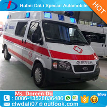 China Brand ICU Professional Mini Medical Bus Ambulance car