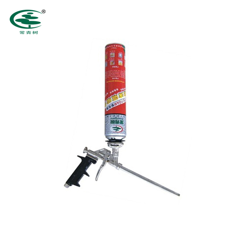 Waterproof polyurethane PU foam sealant for frames fixing