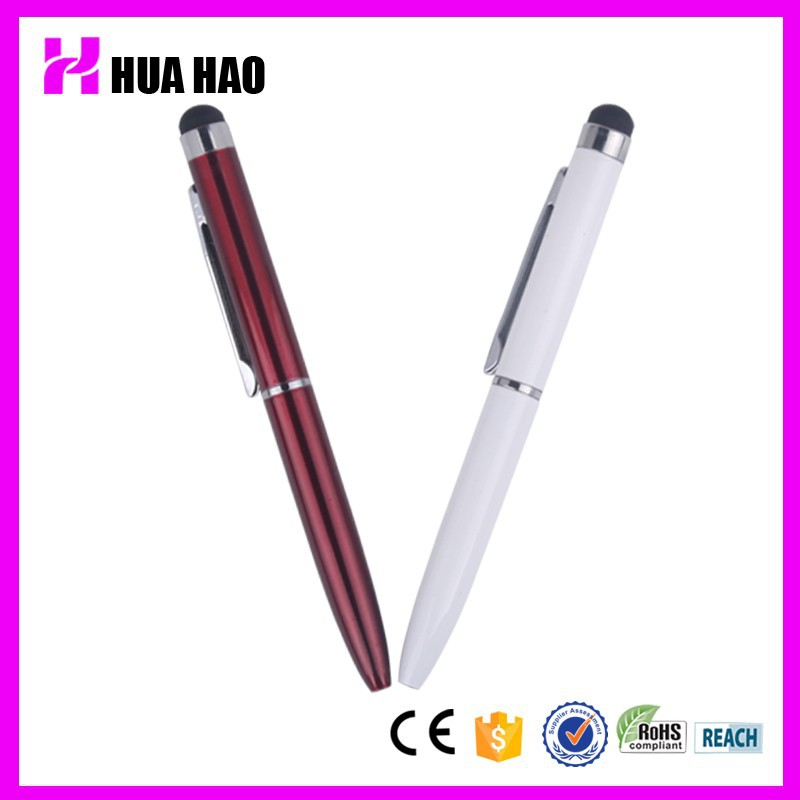 Hot Sales 2 in 1 High Sensitive Capacitive Mini Smart Touch Pen