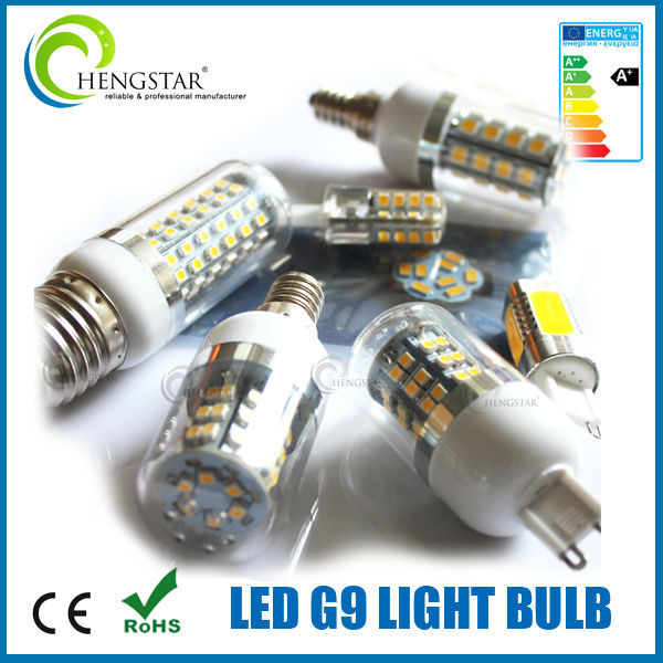 high quality G9 24C SMD 5050 LED 3.8W BULB 220V led g9, led g9 7w
