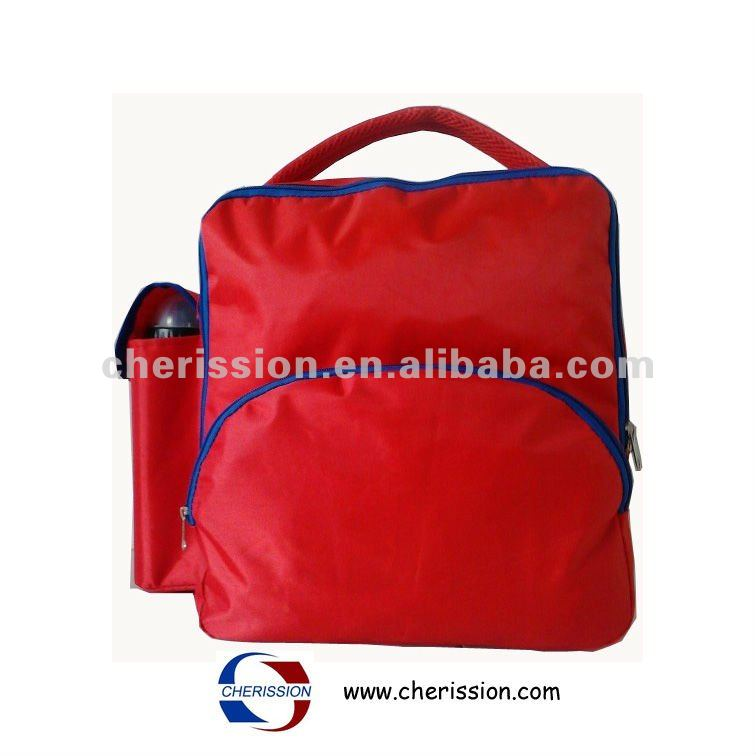2014 Hot sale backpack child with water pocket