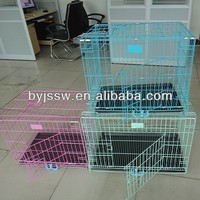 Folding Welded Wire Dog Cage