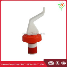 Customized decorative ABS wine bottle stopper parts