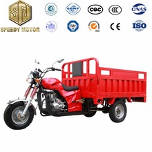 Double Front Absorber Three Wheel Cargo Motorcycle with Cover 200cc 150cc 250cc