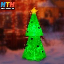enjoyable inflatable christmas tree indoor