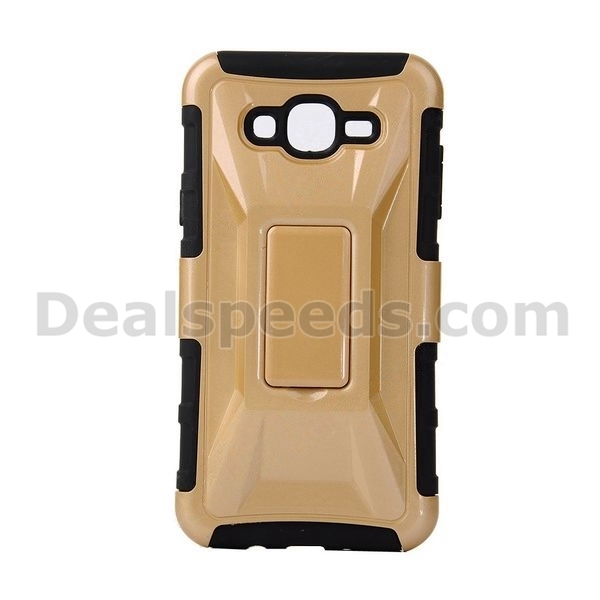 Detachable Racing Car Form Combination Silicon+PC Back Case for Samsung Galaxy J7