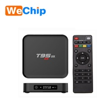 2017 hot selling t95m smart iptv box full HD media player Android TV box 4K