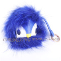 CX-R-48D Factory Direct Sale Popular Genuine Raccoon Fur China Keychain