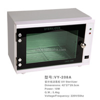 UV sterilizer for beauty salon tool disinfection with timer