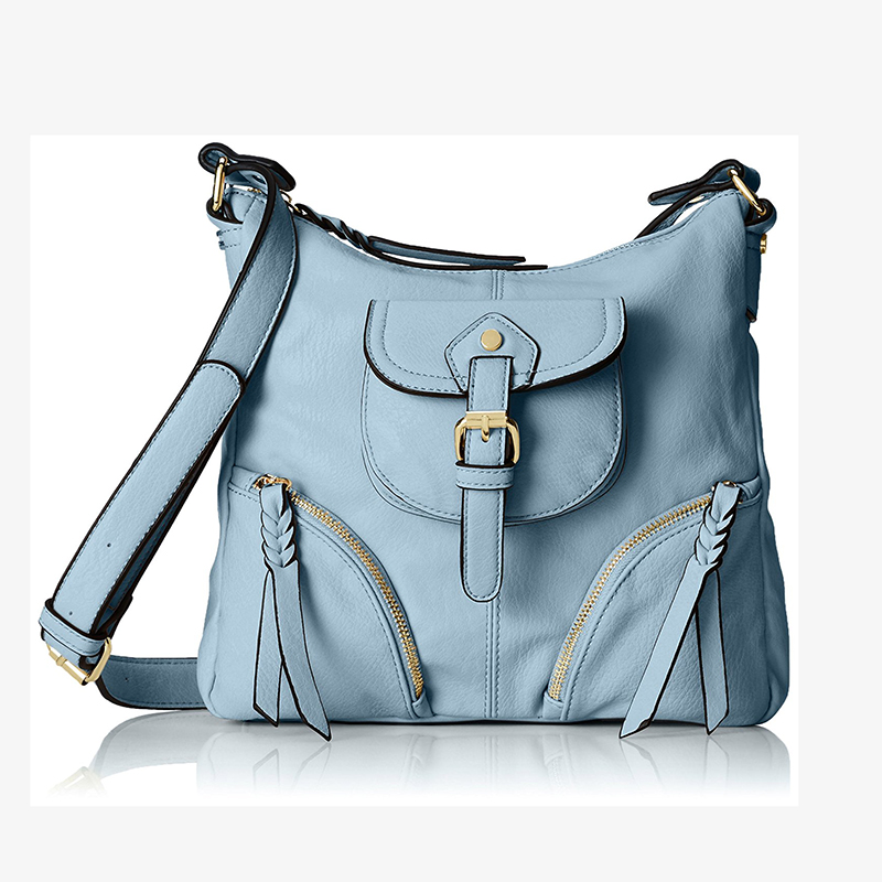 Guangdong Factory Top Sale Soft Travel Cross Body Bag, Nude, One Size Shoulder Handbag