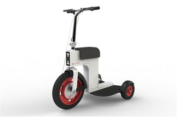 2016 Newest Hidden Battery Folding Electric Bike High quality three wheels folding electric bicycle