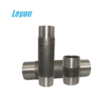 King Combination Nipple Sch80 Carbon Steel Male Thread Pipe Nipple