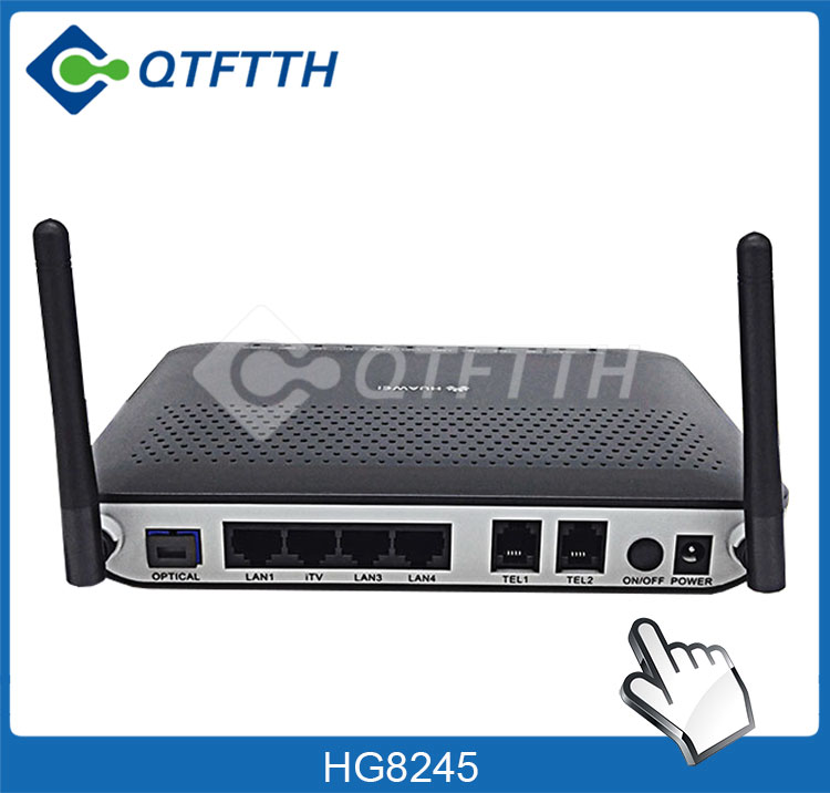 Gpon ONU SIP H.248 English Software with WiFi Function Huawei HG8546M 8546