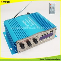 USB Power Amplifier Kinter Car Stereo HIFI Audio 4 Channel 200W MINI Amplifier