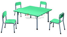Hot Sale Kids Square Table High Quality Children Desk