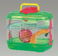 hot sales portable nice plastic Hamster Cage pet cages