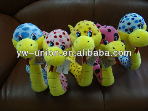 Spot Head Snake Toy for 2013 New Year Toy