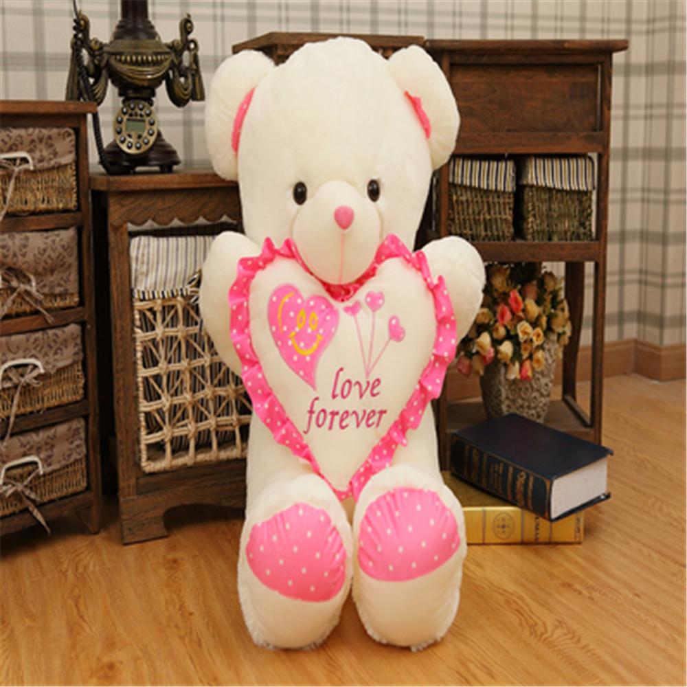 Fancytrader valentines day teddy bear love you pink heart bears fancytrader valentines day teddy bear love you pink heart bears plush toys nice birthday christmas gift altavistaventures Images