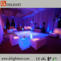 led cube light/ cube chair with table/ luminous led chair