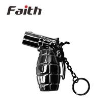 New Promotional Children Toy Plastic LED Hand Gun Keychain with Light and Sound