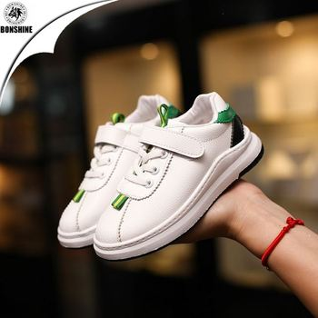 Children's small white shoes summer new style ribbon shoes spot wholesale
