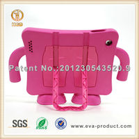 Suspender free standing kickstand case for ipad 2, case and cover for ipad tablet case