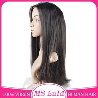 Unprocessed Wholesale Virgin Brazilian Full Lace Human Hair Wig
