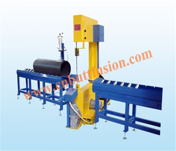 Multi-angle cuttiing machine for Plastic Pipe