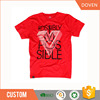 Chinese manufacture embroidered extra large t shirts man