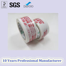 Shipping Packing Tape with Fragile Marking Bopp Adhesive Security Seal Packing Tape