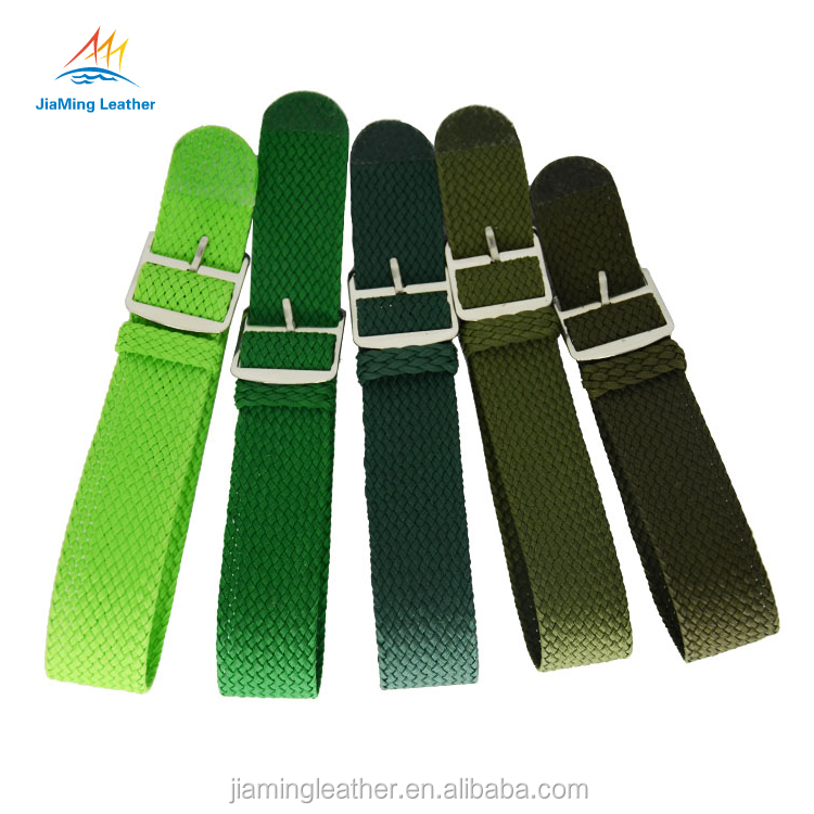 Top 10 high quality green handmade watch bands perlon