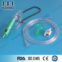 Hospital consumables oxygen disposable safety venturi mask with tubing