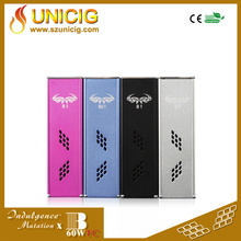 2015 Durable 18650 vv vw mod ecig and vapes box mod authentic battery Unicig Indulgence mutation x Box