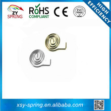 compression conical battery spring with 1.0mm Wire Diameter, EU, RoHS, REACH Marks