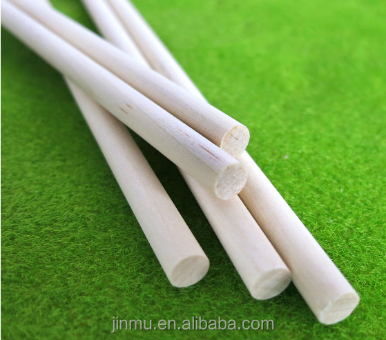 natural color solid wood dowel rod for personal DIY