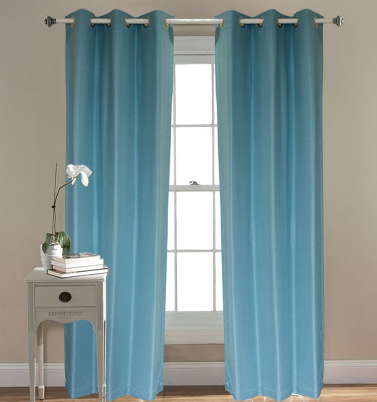 blackout living room window curtain set
