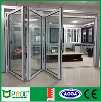 Luxury Decoration Folding Door Partition for Banquet Hall PNOC0010BFD