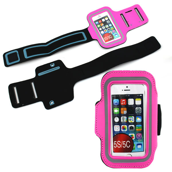 Nylon Sport Gym Arm Band Case Cover For Iphone 5 5g 5s