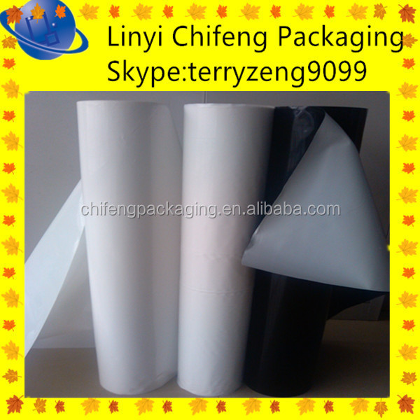 high density polyethylene film 6 mil polyethylene film manufacturer best sell LDPE/PE/PET film heat sealable water soluble china