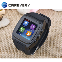 2016 hot selling internal 3g WIFI smart watch with IPS capacitive touch screen/ best cheap dual core mtk6572 smartwatch