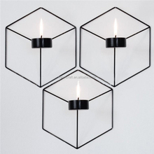 Wall Ornaments Geometric Votive Wholesale Candle Holder Metal