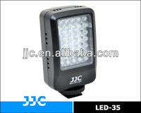 JJC LED-35 Mini LED Light for digital cameras and camcorders with standard ISO/SONY/Minolta hot shoe mount