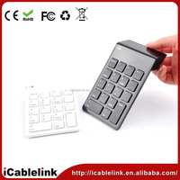 wireless Bluetooth Numeric Keypad Number Keyboard for Apple Mac samsung tab pc laptop Wireless Attachment Computer