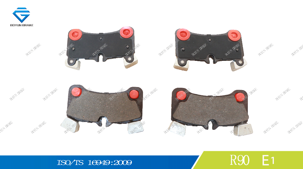 AudiQ7 Car spare parts rear brake pad D1350 OE 7L0698451C, 95535293961