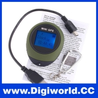 Handheld Keychain Mini GPS Navigation for Outdoor Sport