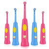 low shipping cost waterproof sonic vibration electric toothbrush for women