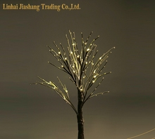 Christmas Decorative White Berry Led Tree Light