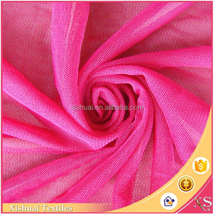 China supplier Attractive Luxury For garment polyester mesh fabric net