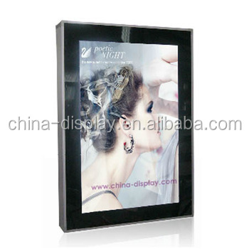 Indoor or Outdoor poster scrolling bus shelter solar light box
