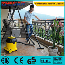 vacuum cleaner water and dust and dust